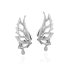STEPHEN WEBSTER MAGNIPHEASANT EARRINGS