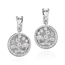 GRAFF DIAMOND WAVE EARRINGS