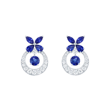GRAFF CLASSIC BUTTERFLY SAPPHIRE EARRINGS