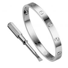 Cartier LOVE BRACELET, WHITE GOLD