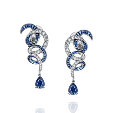 GRAFF TWIST EARRINGS