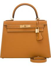 Hermes Toffee Epsom Sellier Kelly 35 cm Gold Hardware