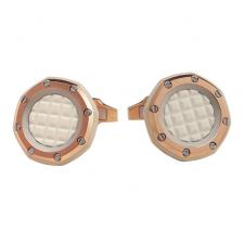 Audemars Piguet Cufflinks Royal Oak 18k Rose Gold Gents