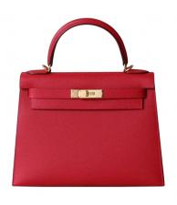 Hermes Kelly Rouge Casaque Epsom 25