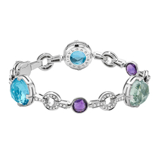 Bvlgari PARENTESI COCKTAIL WHITE GOLD BRACELET