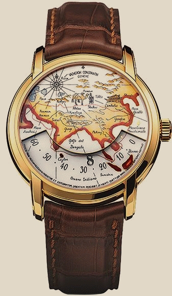 Швейцарские часы Vacheron Constantin Patrimony Tributes to Great Explorers