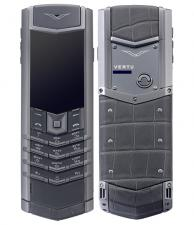 Vertu Zirconium Alligator