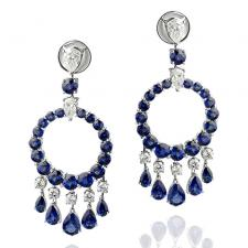 GRAFF GYPSY SAPPHIRE EARRINGS