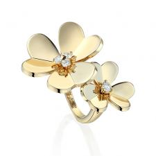 Van Cleef & Arpels. FRIVOLE BETWEEN THE FINGER RING
