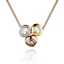 Chopard TRILOGY OF HEARTS DIAMOND NECKLACE