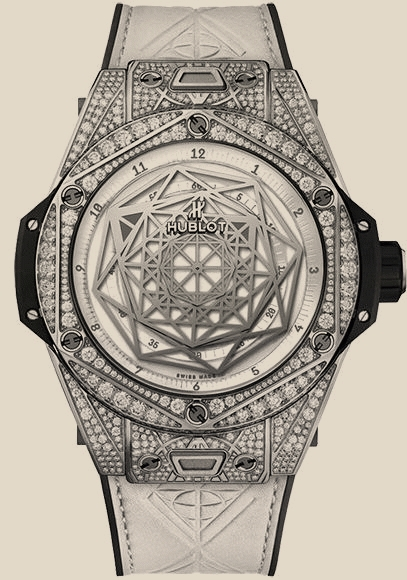 HUBLOT Big Bang 45mm Sang Bleu - Titanium