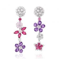 Van Cleef & Arpels. FOLIE DES PRES EARRINGS