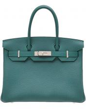Hermes Birkin bag 30 Malachite