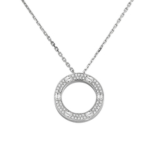 Cartier LOVE NECKLACE, DIAMOND-PAVED