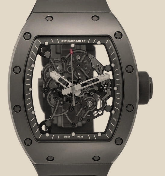 Richard Mille - RM 055 Bubba Watson All Grey Boutique Edition