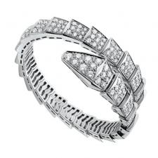 Bvlgari SERPENTI DIAMOND PAVE MEDIUM BRACELET