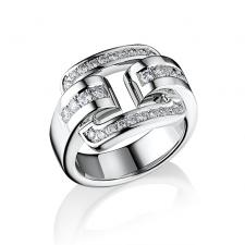Chopard BELT BUCKLE DIAMOND RING