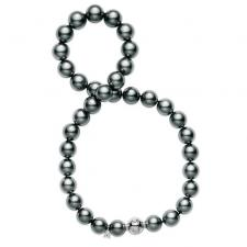 Мikimoto  BLACK SOUTH SEA CULTURED PEARL STRAND