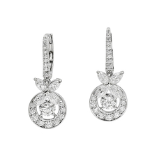 GRAFF BUTTERFLY DIAMOND EARRINGS