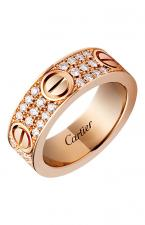 Cartier LOVE DIAMOND PAVE RING