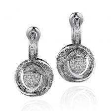 DAMIANI BOCCIOLO EARRINGS