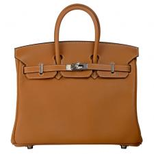 Hermes Birkin 25 Toffee Swift