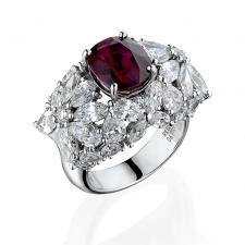 Maximilian РУБИН 5.02 CT PIGEON'S BLOOD