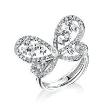 RalfDiamonds BUTTERFLY RING