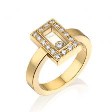 Chopard HAPPY SQUARE RING
