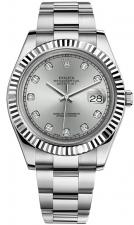Rolex / Datejust / 116334 Silver Diamonds