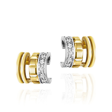 Boucheron QUATRE RADIANT EDITION MINI RING CLIP EARRING