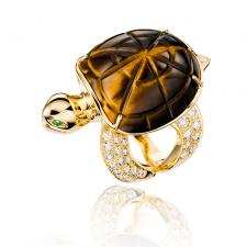 Boucheron HONU, THE TURTLE FAMILY. LARGE MODEL