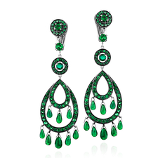 Boucheron EMERALD EARRINGS