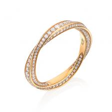 GRAFF SPIRAL ETERNITY RING