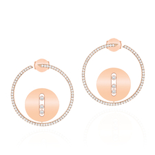 MESSIKA LUCKY MOVE EARRINGS