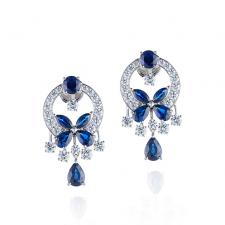 GRAFF CLASSIC BUTTERFLY EARRINGS
