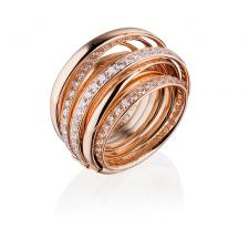 De Grisogono ALLEGRA ROSE GOLD & DIAMOND RING