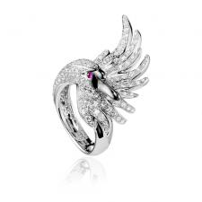 Boucheron CYPRIS, THE SWAN RING DIAMONDS