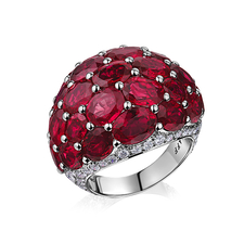 GRAFF BOMBE RUBY RING