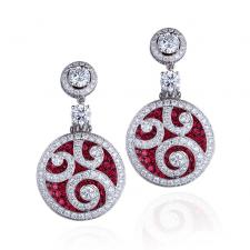 GRAFF DIAMOND ON DIAMOND EARRINGS