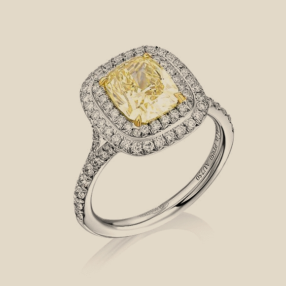 Tiffany & Co - 2.18 CT FANCY INTENSE YELLOW/VS1