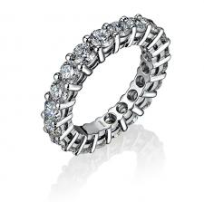 GRAFF ETERNITY RING 5.03 CT