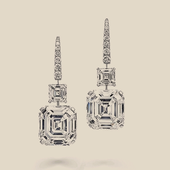 СЕРЬГИ NO NAME - 5.22 CT F/VVS2 - 5.24 F/VVS2