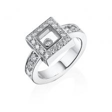 Chopard HAPPY DIAMONDS SQUARE RING
