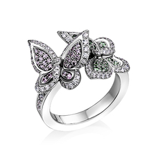 Chopard HAPPY BUTTERFLY RIMG