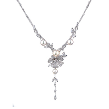 DAMIANI FIORI DARANCIO NECKLACE