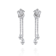 GRAFF DIAMOND KNOT EARRINGS