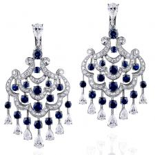 GRAFF CHANDELIER EARRINGS