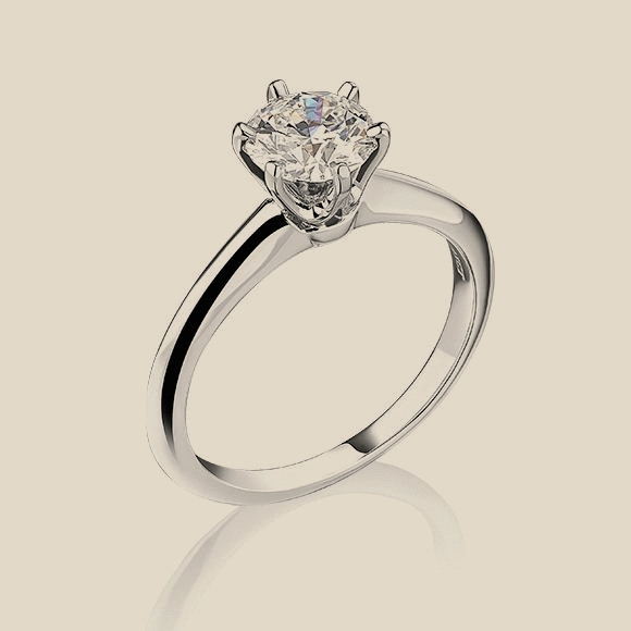 Tiffany & Co - 0.85 CT I/VS1