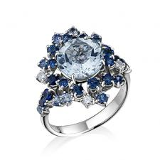 DAMIANI ANIMA AQUAMARIN RING